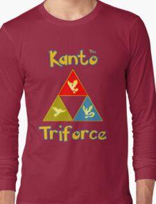 Kanto's Legendary Triforce Long Sleeve T-Shirt