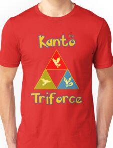 Kanto's Legendary Triforce Unisex T-Shirt