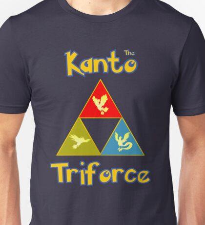 Kanto's Legendary Triforce Unisex T-Shirt