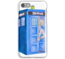 Doc and his Tardis iPhone Case/Skin