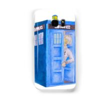 Doc and his Tardis Samsung Galaxy Case/Skin