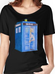 Doc and his Tardis Women's Relaxed Fit T-Shirt