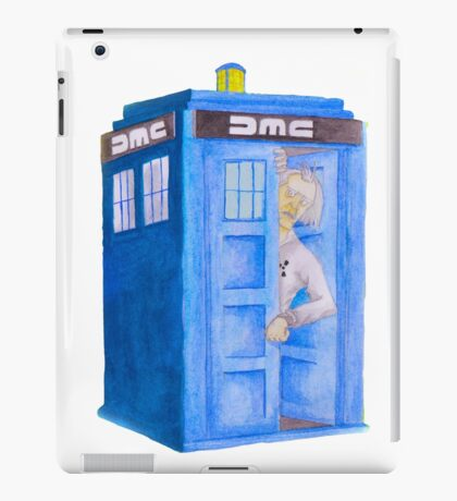 Doc and his Tardis iPad Case/Skin