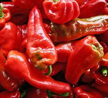 Red Peppers by Chris  Bradshaw