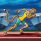 Olympic Runner Cheetah by Zoo-co