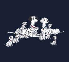 101 Dalmatians by Lorren Francis