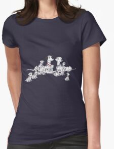 101 Dalmatians Womens Fitted T-Shirt