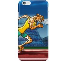 Olympic Runner Cheetah iPhone Case/Skin