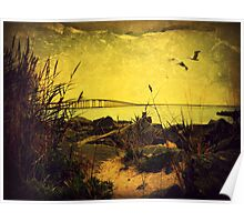 Light Over the Inlet Poster