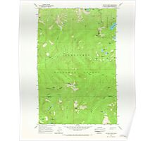USGS Topo Map Washington State WA Captain Point 240350 1965 24000 Poster