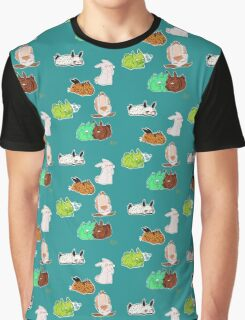 Sea Bunnies and Friends Graphic T-Shirt