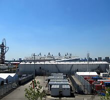 The Olympic Village, Stratford, London by GregoryE