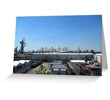 The Olympic Village, Stratford, London Greeting Card