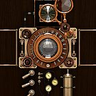 Steampunk Camera #2A iPhone case by Steve Crompton
