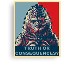 Zygon Hope Canvas Print