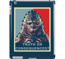 Zygon Hope iPad Case/Skin