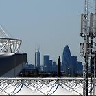 Olympic village with the City in the background by GregoryE