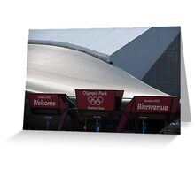 Olympic village view Greeting Card