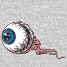 Severed eye by Chrome Clothing
