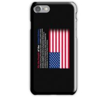 The American Constitution iPhone Case/Skin