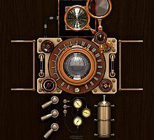 Steampunk Camera #2A iPod case by Steve Crompton