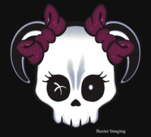 Cutie Skull With Horns by Baxter  Imaging