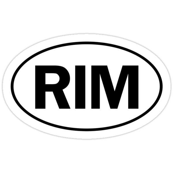 RIM - Oval Identity Sign by Ovals