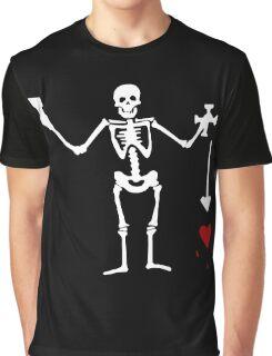 Olivier Levasseur Pirate Flag Graphic T-Shirt