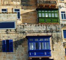 Malta -  Apartments Sticker