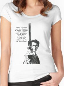 Dirty Harry Charity Women's Fitted Scoop T-Shirt