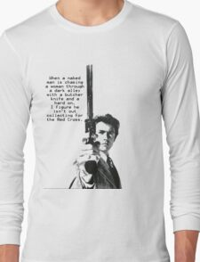 Dirty Harry Charity Long Sleeve T-Shirt