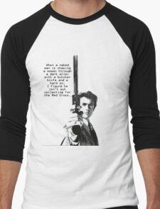 Dirty Harry Charity Men's Baseball ¾ T-Shirt