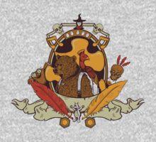 Bear & Bird Crest One Piece - Long Sleeve