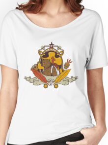 Bear & Bird Crest Women's Relaxed Fit T-Shirt