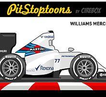 WILLIAMS MERCEDES FW 37 _ 2015 by Cirebox