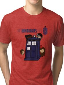 The Whovians Have the Box! Tri-blend T-Shirt