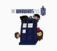 The Whovians Have the Box! Unisex T-Shirt