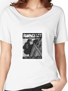 Rampage in New York? There's an Ape for That. Women's Relaxed Fit T-Shirt