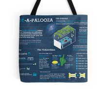 Sukkot explained: A Jewish holiday infographic Tote Bag