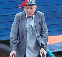 Portrait of an elderly man by DominoDude