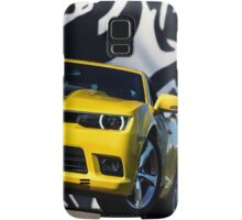 Luxury sport yellow car. Speed and modern style Samsung Galaxy Case/Skin