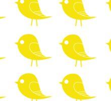 Yellow Birdies Sticker