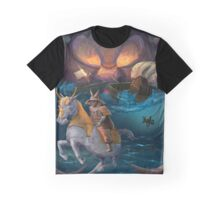 Ghost Warrior of The Genpei War Graphic T-Shirt