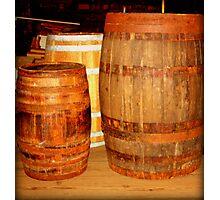 Old Ship Barrels  Photographic Print