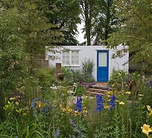 An English Country Garden by Keith Larby
