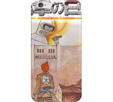 Attack On Bender iPhone Case/Skin