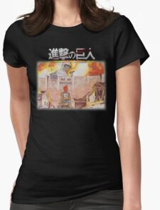 Attack On Bender Womens Fitted T-Shirt