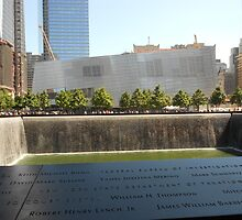 South Tower Memorial Pool by lilyisabelle