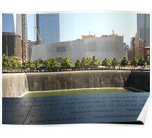 South Tower Memorial Pool Poster
