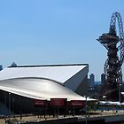 London Olympic buildings, Stratford July 2012 by GregoryE